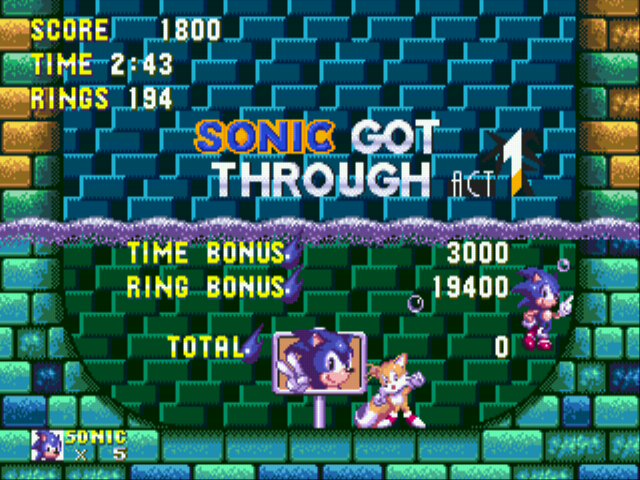 Sonic the Hedgehog 3 - i defaiy logic - User Screenshot